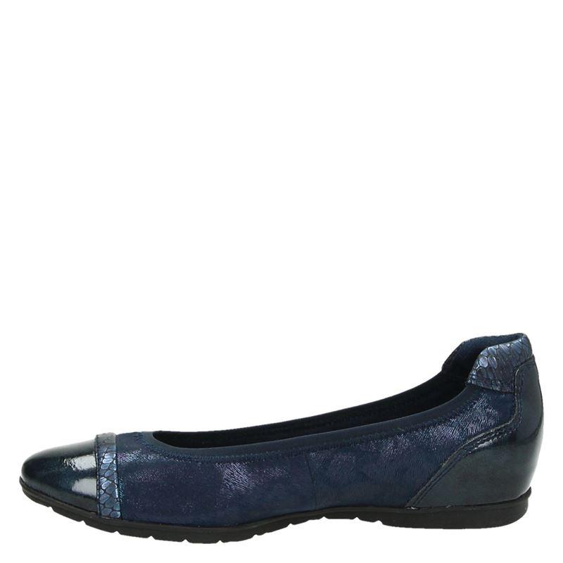 Tamaris - Ballerinas & instappers - Blauw