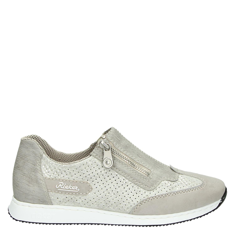 Rieker Chaussures De Sport Pour Les Femmes, Gris, Taille: 38
