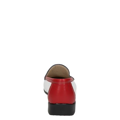 Nelson dames mocassins & loafers Rood