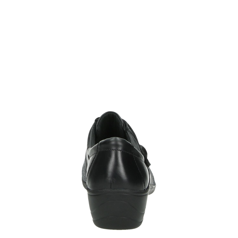 Nelson Velcro Chaussures Noir caJh8