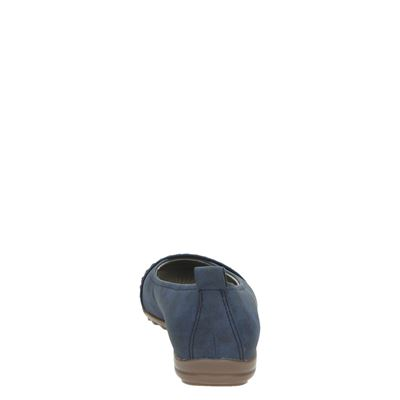 Blauw Loafers Jenny Dames Mocassinsamp; Loafers Dames Mocassinsamp; Jenny Blauw WED29IYH