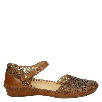 Pikolinos dames sandalen cognac