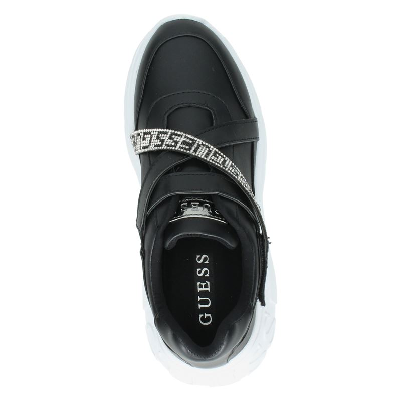 Guess Stoney - Lage sneakers - Zwart