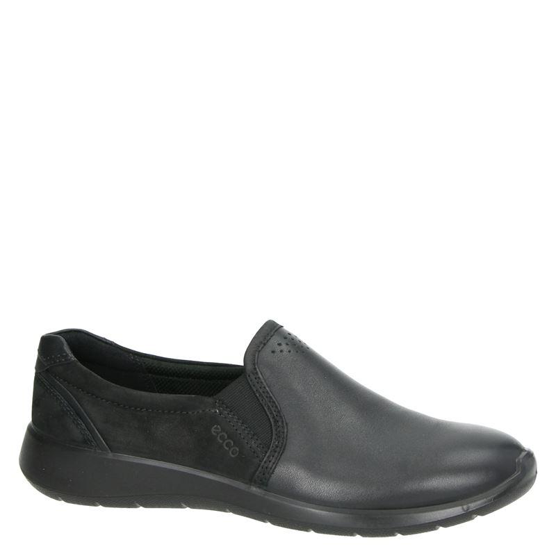 Ecco Soft 5 - Instapschoenen - Zwart