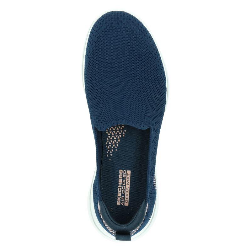 Skechers Go walk 5 - Instapschoenen - Blauw