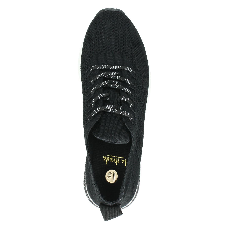 La Strada - Lage sneakers voor dames - Zwart OY8U0WH