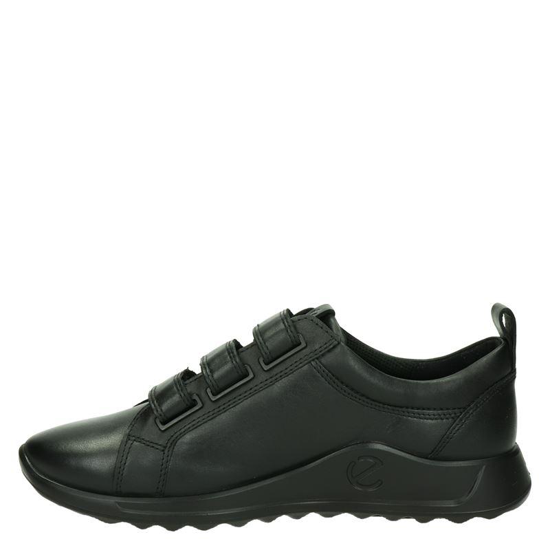 Ecco Flexure Runner - Klittenbandschoenen - Zwart