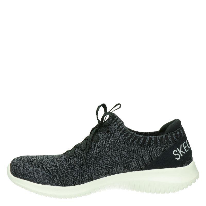 Skechers Stretch Fit - Instapschoenen - Zwart