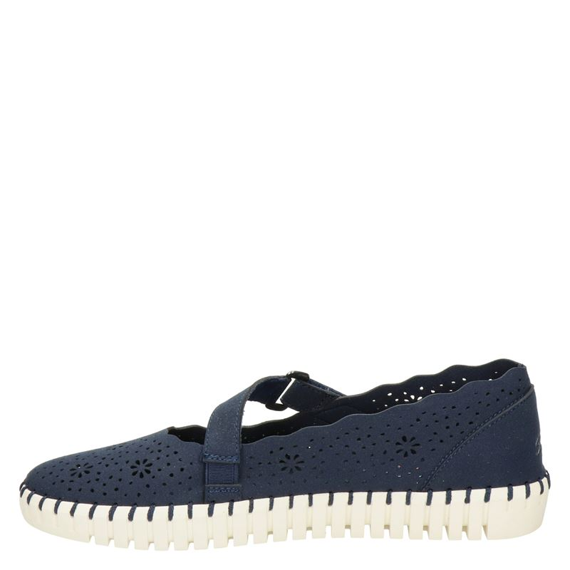 Skechers Active Avenue - Ballerinas & instappers - Blauw