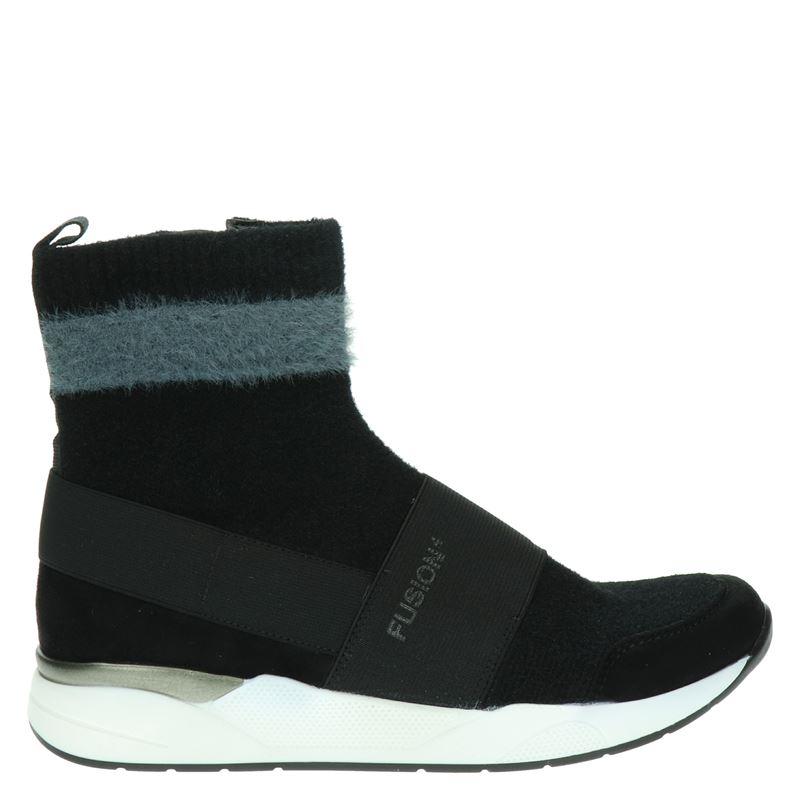 Ara L.A. Fushion 4 - Hoge sneakers - Zwart