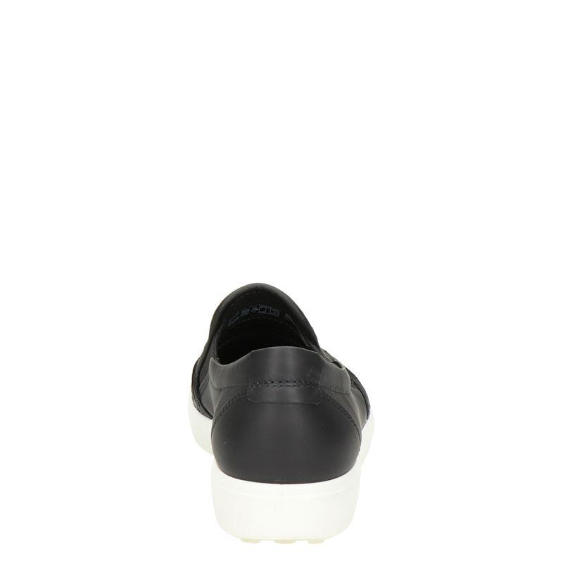 Ecco Soft 7 - Instapschoenen - Zwart
