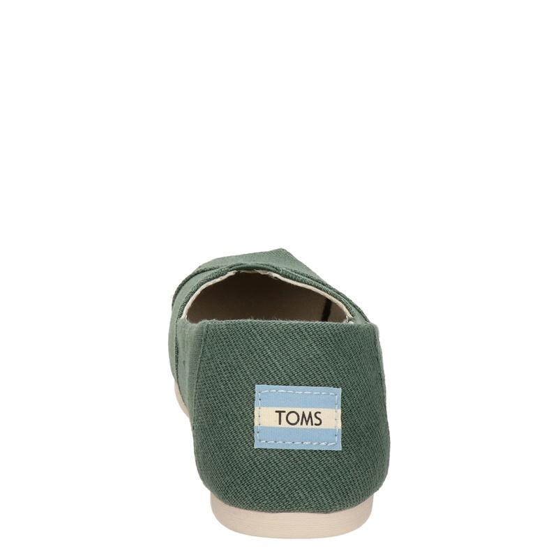 Toms Alpargata Classic - Instapschoenen - Groen