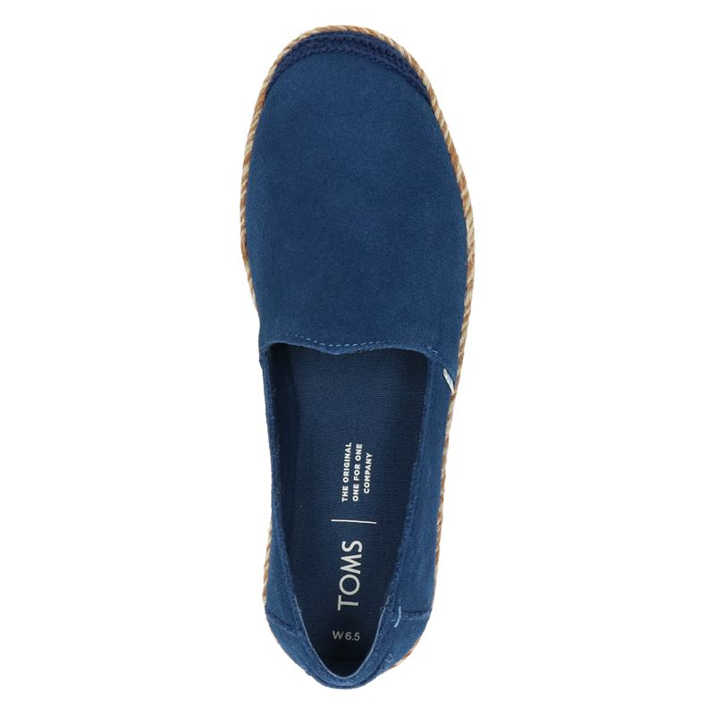 Toms Pismo - Espadrilles - Blauw