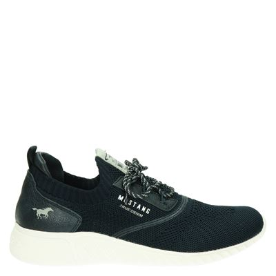 Mustang dames sneakers blauw