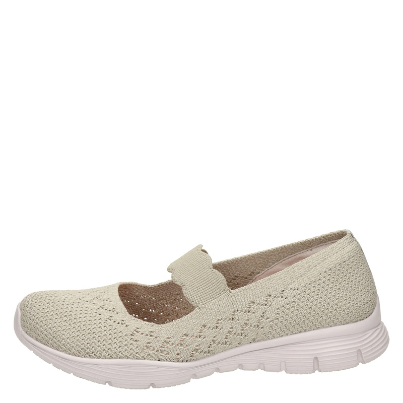 Skechers Power Hitter - Ballerinas & instappers - Beige