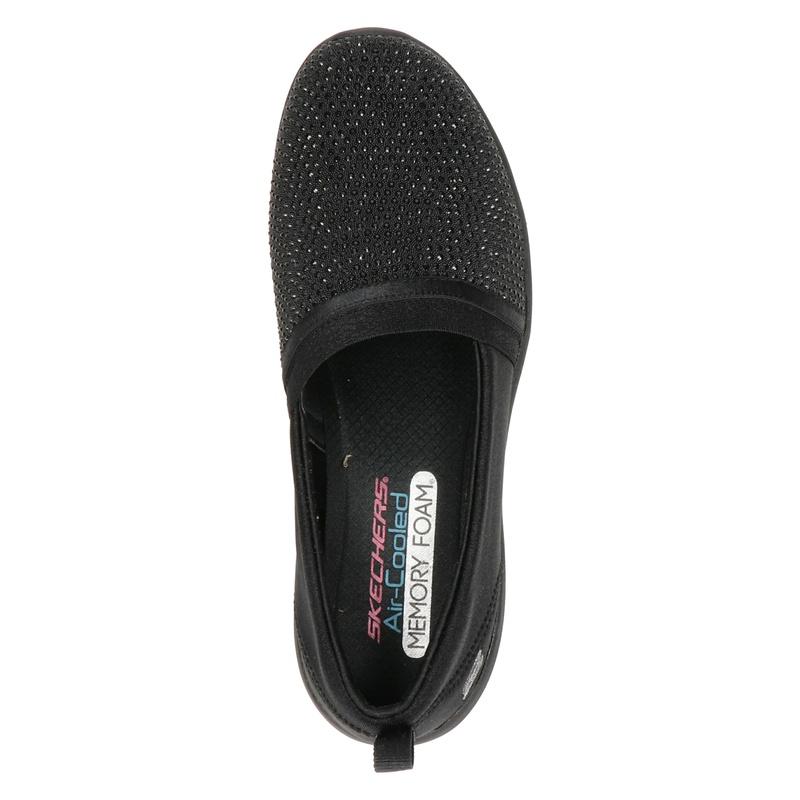 Skechers Arya - Mocassins & loafers - Zwart