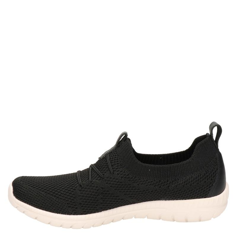 Skechers Arch Fit Flex - Lage sneakers - Zwart