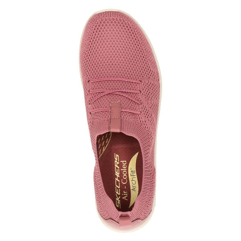 Skechers Arch Fit Flex - Lage sneakers - Roze