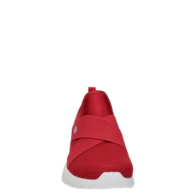 Skechers Skech Air Dynamight - Instapschoenen - Rood