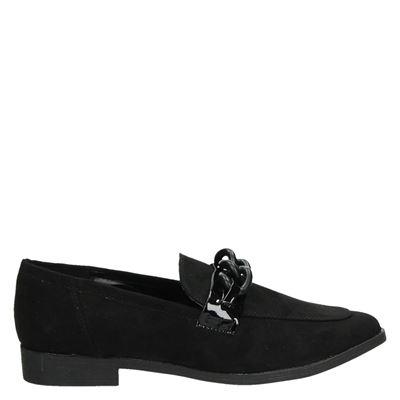 La Strada dames instapschoenen zwart