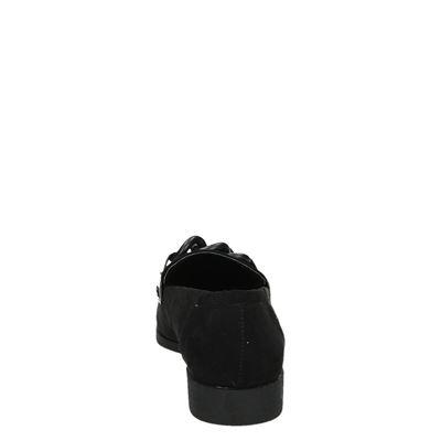 La Strada dames mocassins & loafers Zwart