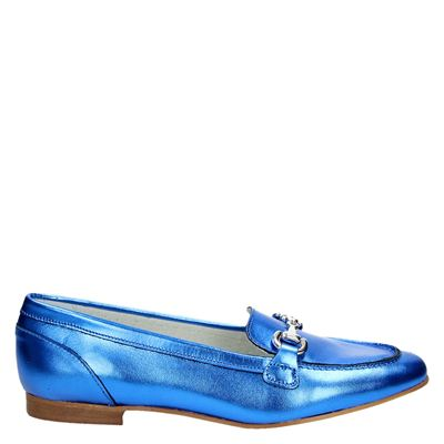 PS Poelman dames mocassins & loafers Blauw