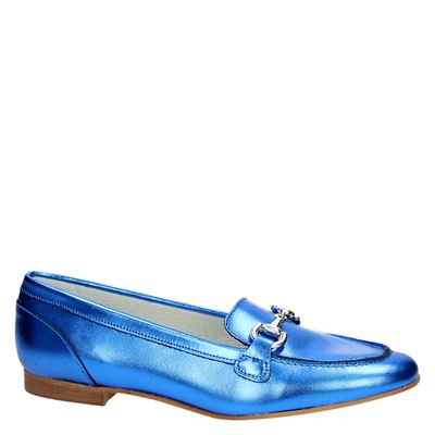 PS Poelman dames mocassins & loafers Blauw