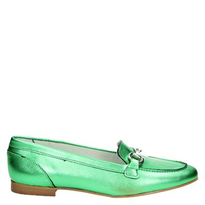 PS Poelman dames mocassins & loafers groen