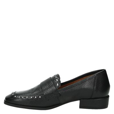 Nelson dames mocassins & loafers Zwart