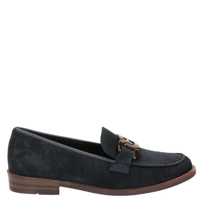Ara Kent suède loafers donkerblauw online kopen