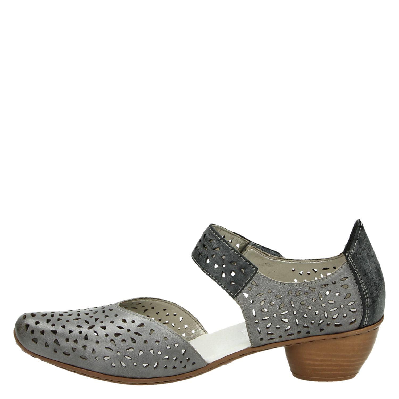 Chaussures Velcro Gris Rieker Bwv4KEu