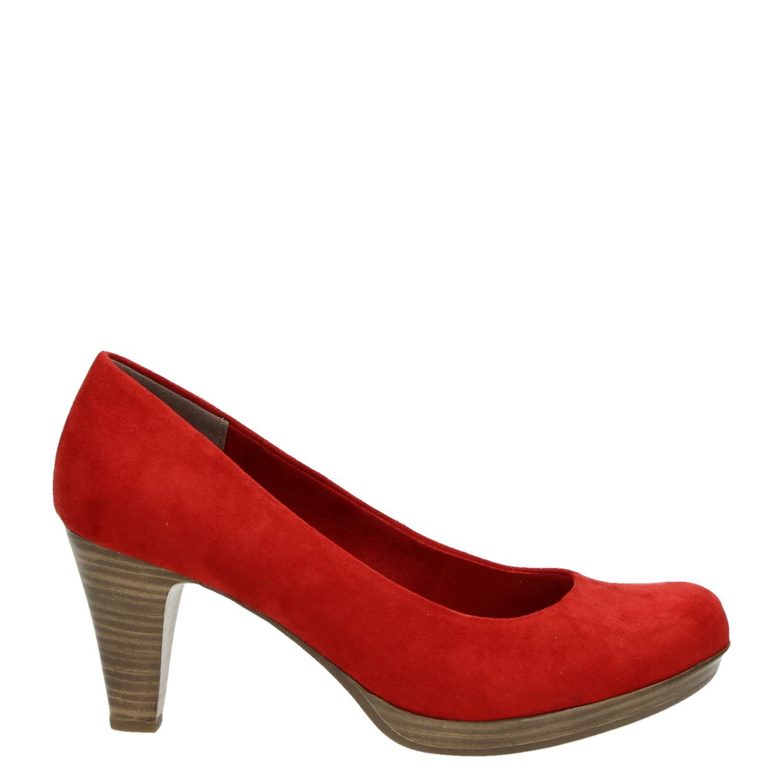 marco tozzi dames pumps rood. Black Bedroom Furniture Sets. Home Design Ideas