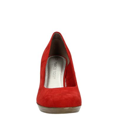 Marco Tozzi dames pumps Rood