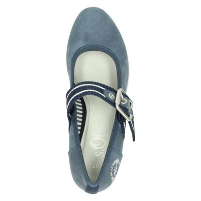 S.Oliver dames pumps Blauw
