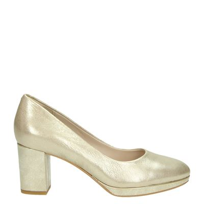 Clarks dames pumps goud