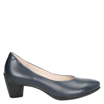 Ecco dames pumps blauw