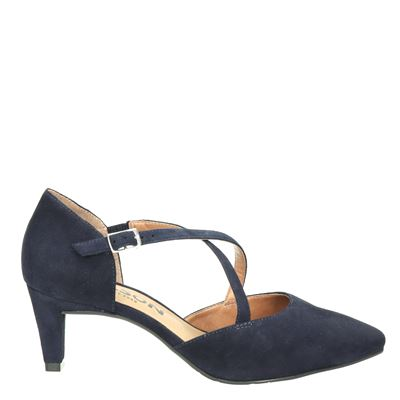 Nelson dames pumps blauw