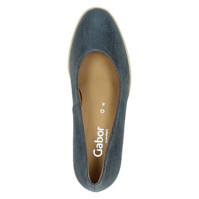 Gabor dames pumps Blauw