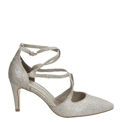 Tamaris dames pumps zilver