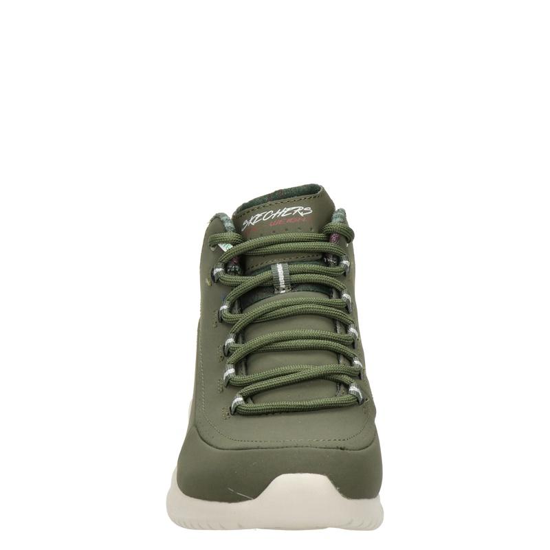Skechers - Hoge sneakers - Groen