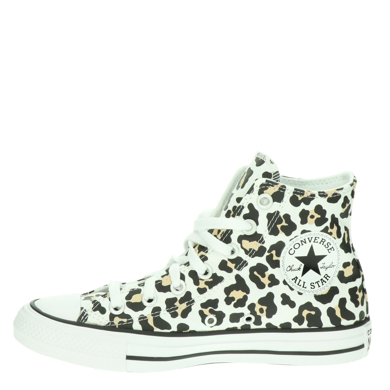 Converse Chuck All Star - Hoge sneakers voor dames - Bruin IGawo8G