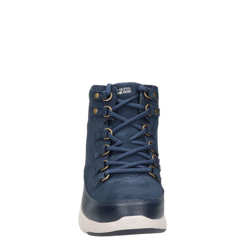 Skechers Go Walk - Veterboots - Blauw
