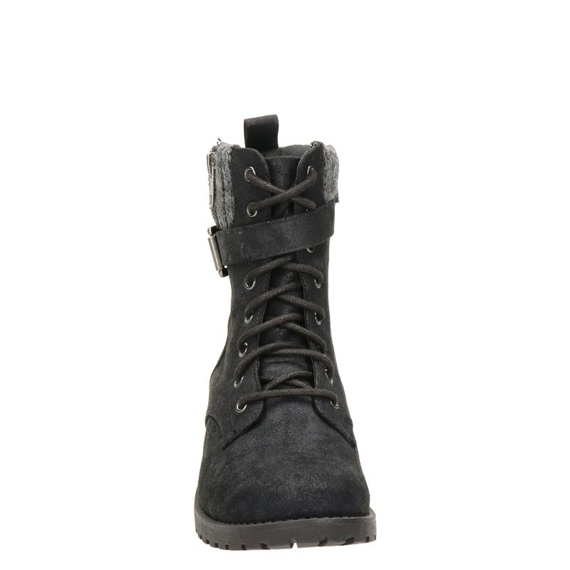 Skechers Dome - Veterboots - Zwart