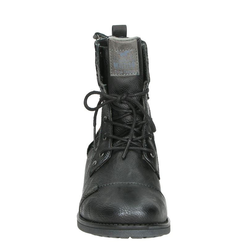 Mustang - Rits- & gesloten boots - Zwart