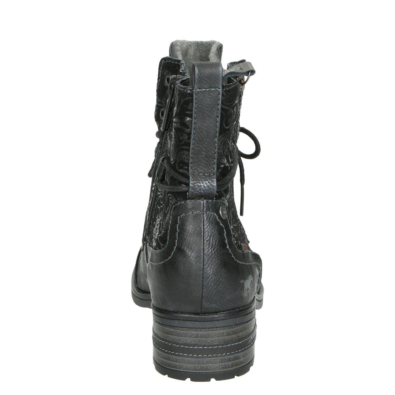 Mustang - Rits- & gesloten boots voor dames - Zwart oYH9G0h