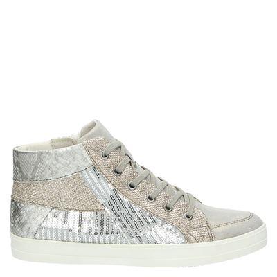 Tamaris dames sneakers zilver