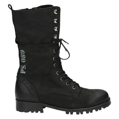 PS Poelman dames laarzen zwart
