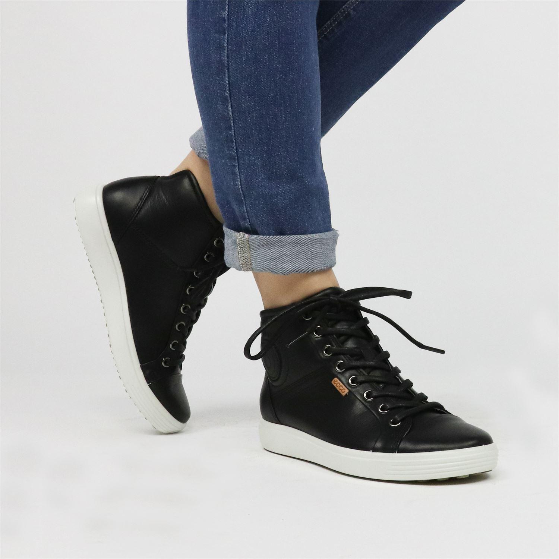 ecco comfort sandals sale, ECCO Soft 7 High Top (Womens