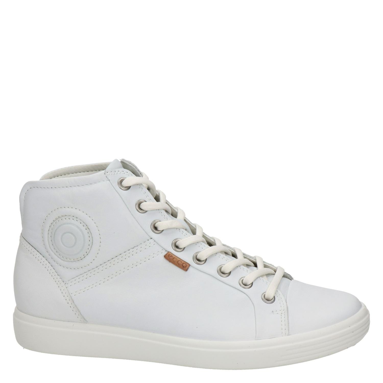 Ecco Soft 7 - Hoge sneakers voor dames - Wit TcBeQ8q