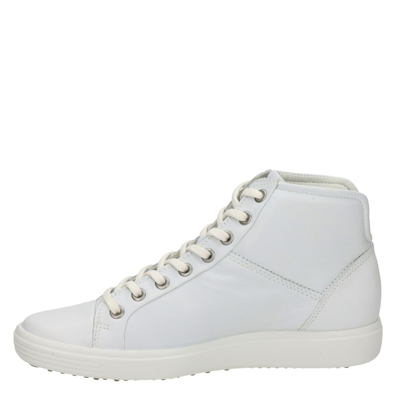 Ecco Soft 7 - Hoge sneakers - Wit